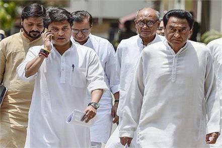 madhya pradesh congress arjun singh rajiv gandhi jyotiraditya scindia