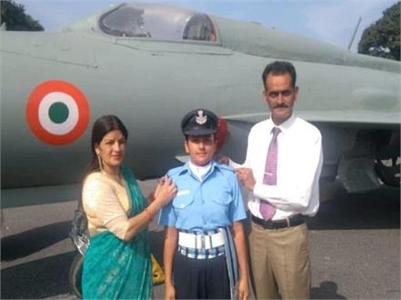 flying officer become himachal daughter