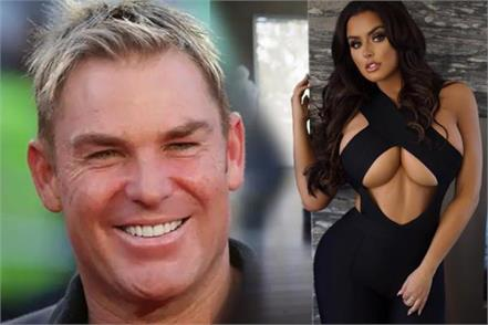 is australian ex spinner shane warne flirt with us abigail ratchford