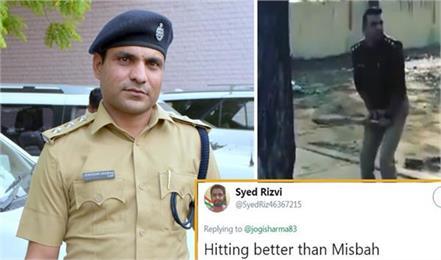 joginder sharma left policegiri cricketgiri fans speak hit better than misbah