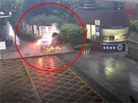 alcohol drunk driver dies in school gate watch dangerous video