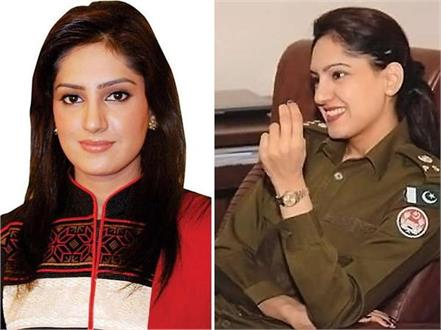 beauty from pak  police officer anoosh pictures gone viral