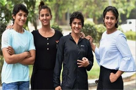 phogat sisters asian games coaching camp