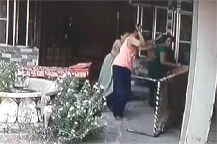 husband and mother in law beaten woman brutally
