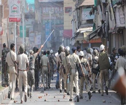 fierce riot between two communities on eid  18 youth sent to jail