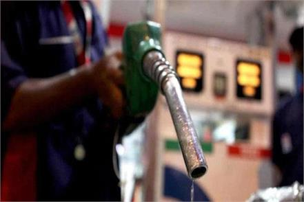 petrol at rs 1 65 and diesel rs 1 21 in 12 days