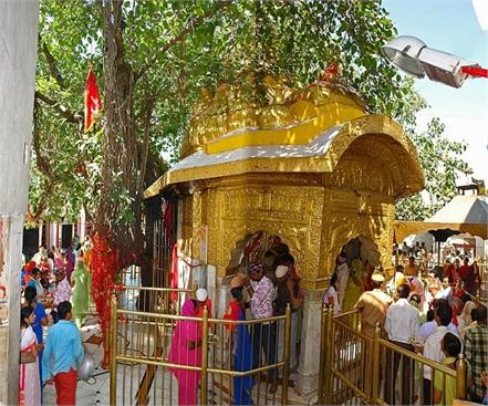 vaishno devi of lines on maa chintpurni in the pilgrims will get relief