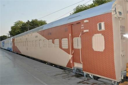 indian railways now seen in new colors
