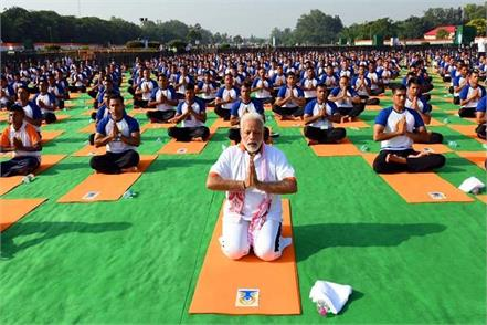 73 year old woman died in pm modi yoga program