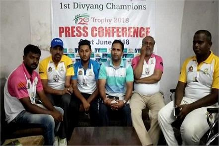 for the first time the divya cricket championship is held in panipat