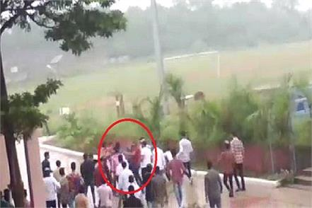 nalagarh pg college in student groups in between bloody clashes