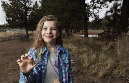 6 years old american girl found 65 million years old fossil