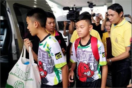 thai cave boys to leave hospital speak to media