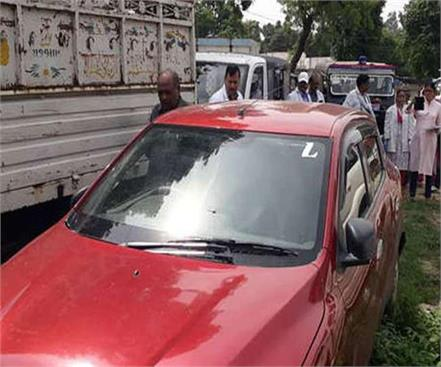 deoria girl child scandal sit captured red car