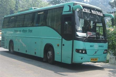 bus rent increase in himachal