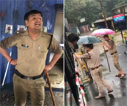 uttarakhand police crappy with hrtc bus driver