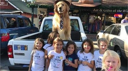 people elected dog as a mayor in us