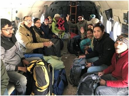 lahaul 2nd day rescue operation