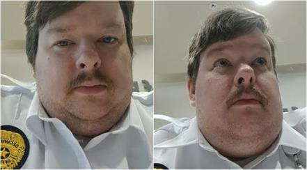 security guard who posted viral video of himself farting at work gets fired