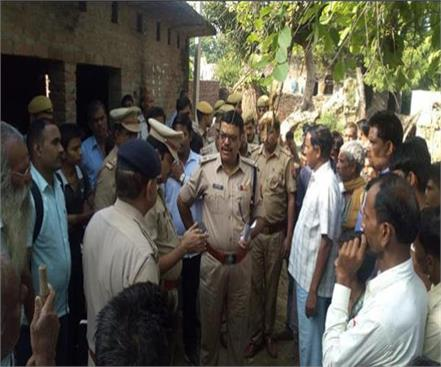 kasganj one killed in attack by miscreants one injured