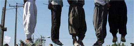iran executes 9 men convicted of rape
