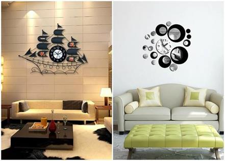 wall clock ides for decor