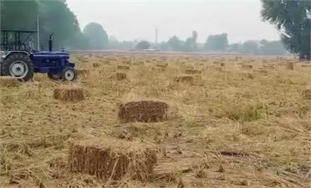 farmers who do not burn stubble will get 100 rupees per quintal