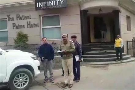 president of mandi bachao sangharsh morcha gets the challan