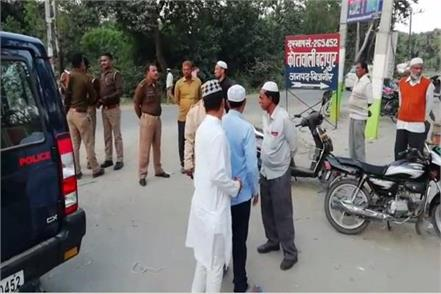 bijnor strangled former councilor in a meeting