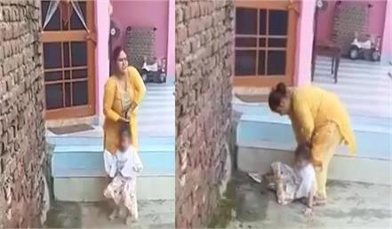 mothers brutally beats her baby and father makes video 2
