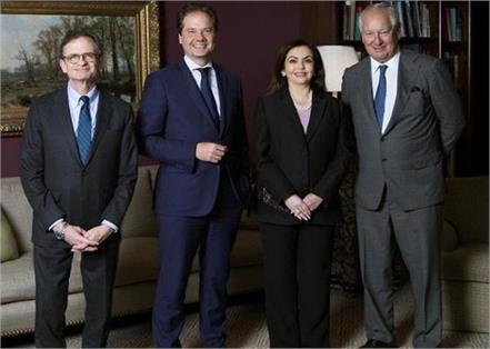 nita ambani became the first indian trustee of america s largest art museum