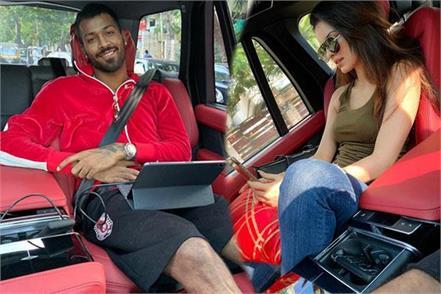 heardik was in car with girlfriend natasha people pulled pandya s leg