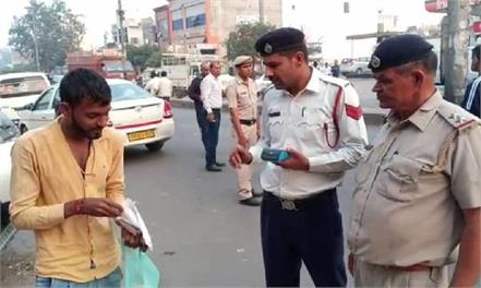 genie of new traffic rules came out scooty s challan of 28 thousand