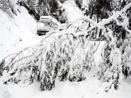 50 roads and 13 transformers closed due to snowfall
