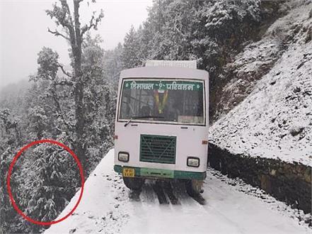 hrtc bus in haripur dhar