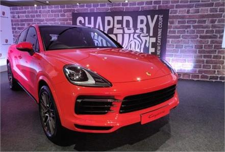 porsche cayenne coupe launched in india