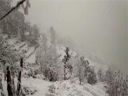 snowfall in chudhar