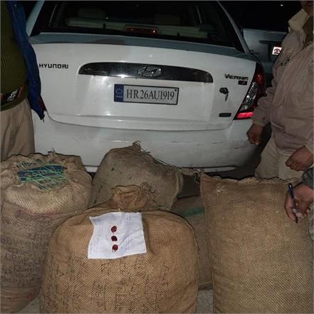 otherwise 61 kg of opium doda was consumed in the car