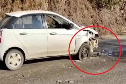 accident on nh 21 strong collision in two cars