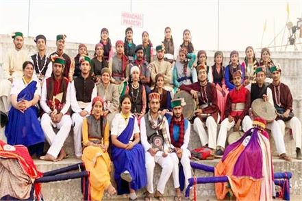 kullu national level folk song himachal winner