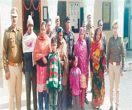 bangladeshi threat to kanha s city 17 arrested in 6 days