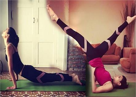 diana penty do yogasan for her fitness