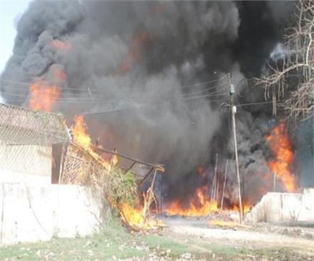divine woman burnt alive in fire at home