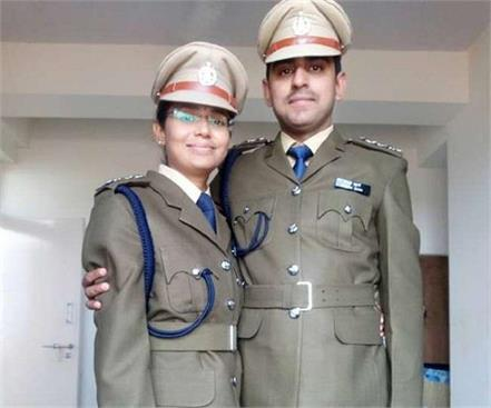 assistant commandant medical officer made in the itbp couple