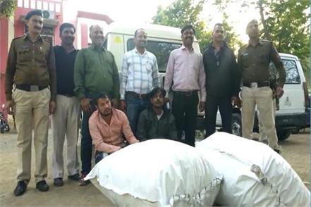 narcotics wing s big success 1 crore including one and a half million ganja
