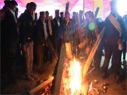 celebration of haldha festival in himachal pradesh