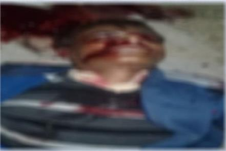 sub inspector shot dead cousin s brother
