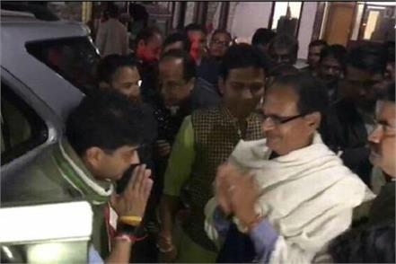 thousands of meetings between scindia and shivraj