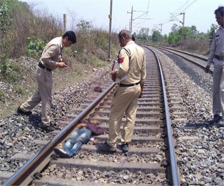 talking on mobile crossing the line cut off the youth train death