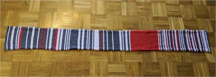 german train delay scarf sells for thousands at auction